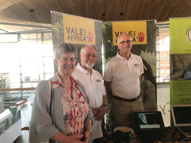 jane hutt and vale for africa event